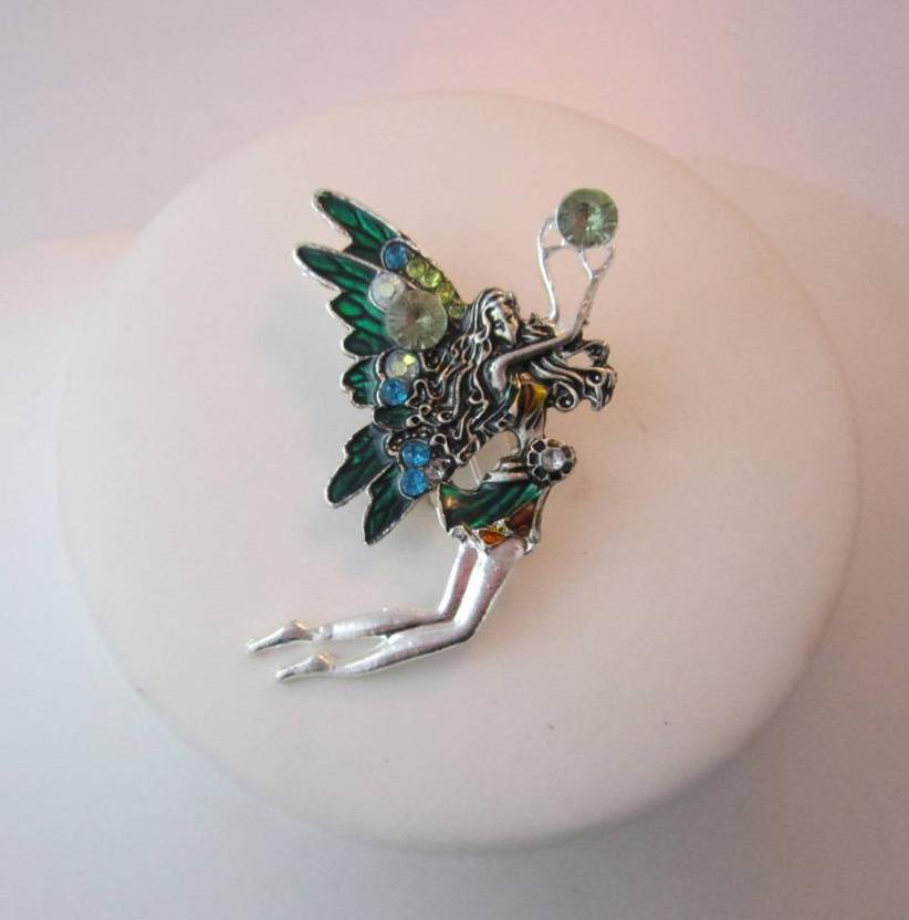Forest Faerie Pin Brooch