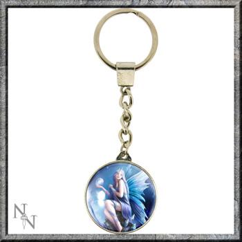 Stargazer key Ring by Anne Stokes