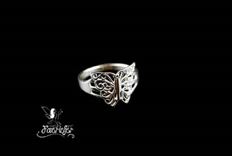 Butterfly Fae Ring