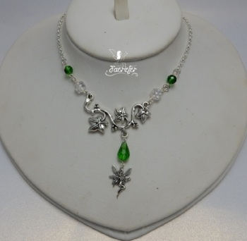 Ivy Trail Fairy Necklace