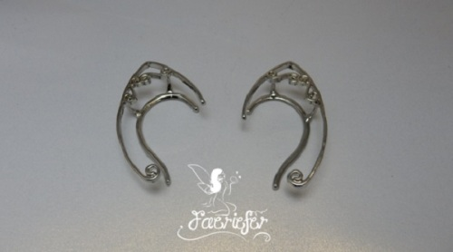 Elven Faerie Ear tips in gold or silver