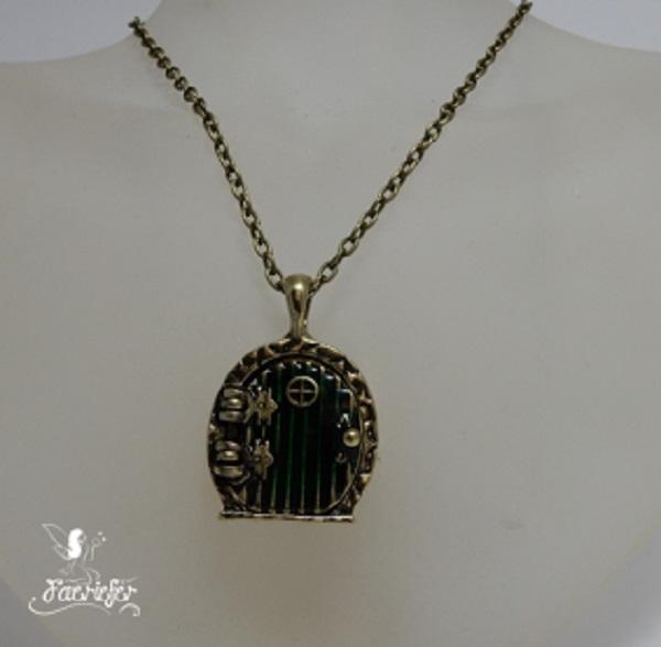 Faerie Door Elven Portal necklace