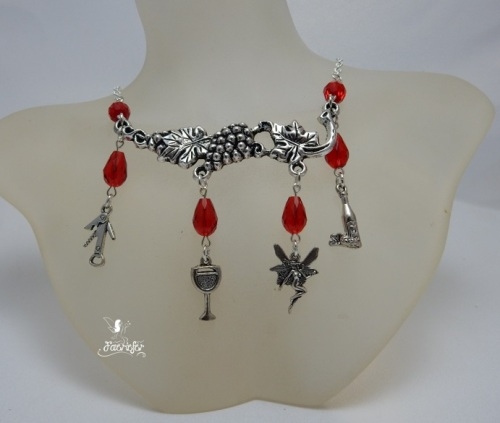 Tipsy The Wine Fairy necklace
