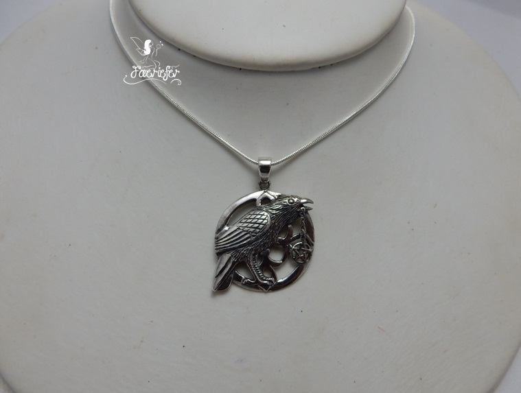Sterling Silver Talisman necklace designed by Lisa Parker