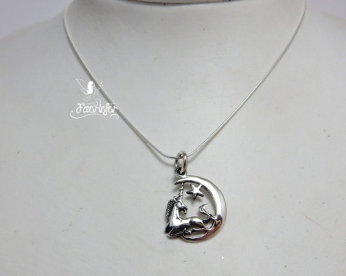 Unicorn On The Moon necklace