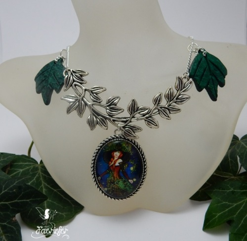 Trailing Ivy - The Fae Witch hand crafted necklace