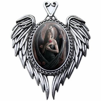 Anne Stokes Necklace Angel Rose