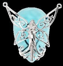 Crystal Keeper Poesy necklace by Anne Stokes