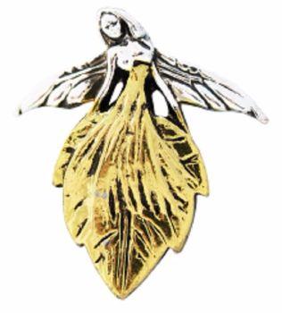 Briar Fairies Leaf Faerie necklace