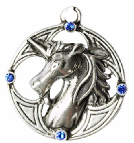 Celtic Sorcery Plantagenet Unicorn Necklace