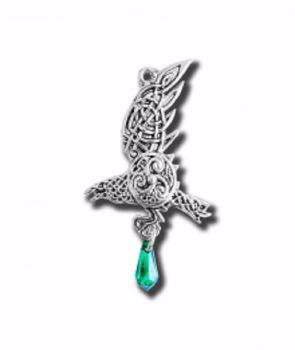 Bran's Raven Necklace