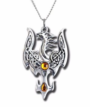 Avalonian Phoenix Necklace from the Mythic Celts Range
