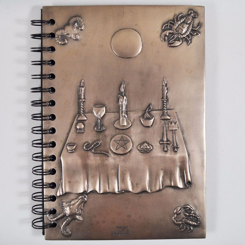Witchcraft Notebook by Tina Tarrant