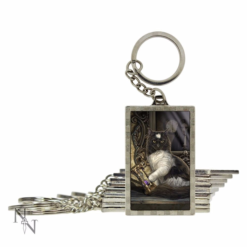 Time's Up 3D key ring by Lisa Parker