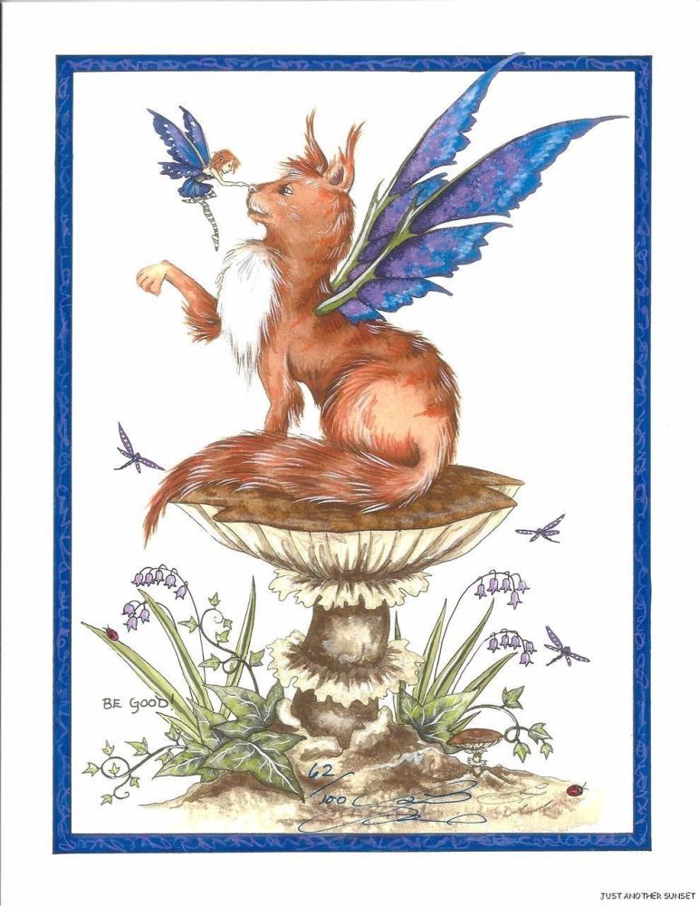 Amy Brown Be Good fairy  Greetings Card