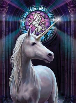 Enlightenment Greetings Card Anne Stokes