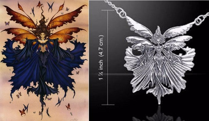 Amy Brown Unbound Fairy necklace