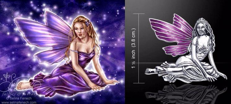 Memorila Fairy Pendant by Selina Fenech