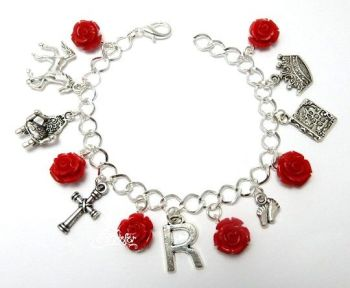 Red Queen bracelet - Margaret Beaufort War Of The Roses Cousins War
