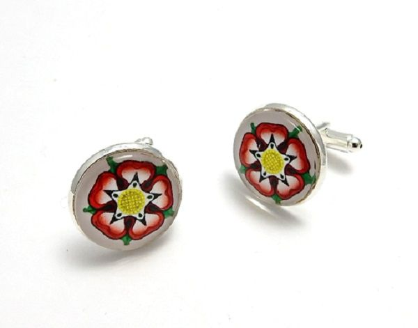 War Of The Roses Collection - Tudor Rose Cufflinks