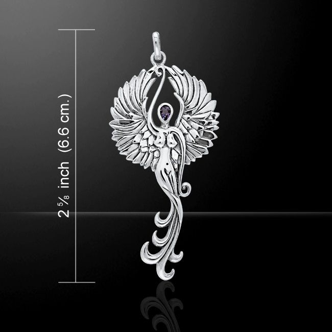 Angels Among Us Sterling Silver Pendant