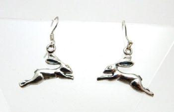 Leaping Hare drop Earrings