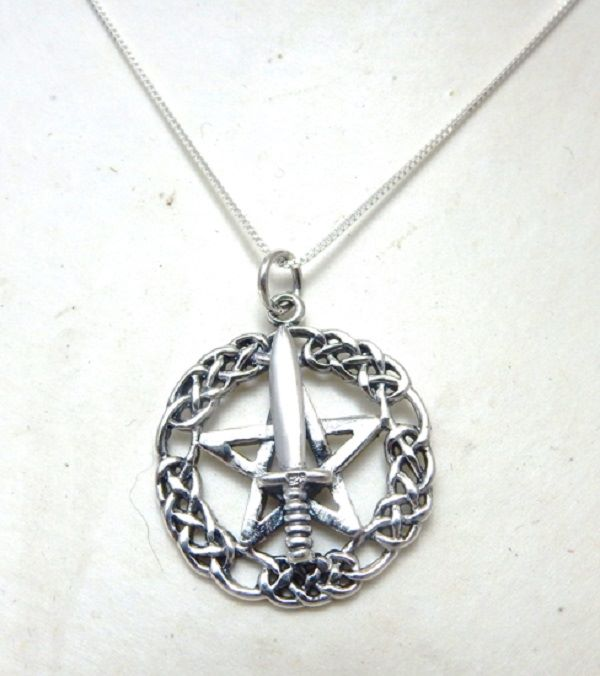 Witch's Athame necklace