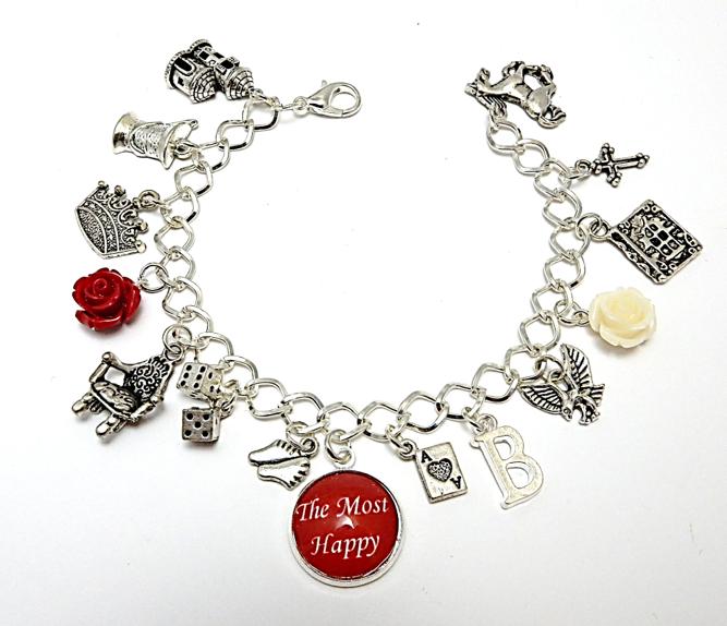 Anne Boleyn Charm Bracelet