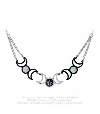 Tres Lunae Necklace
