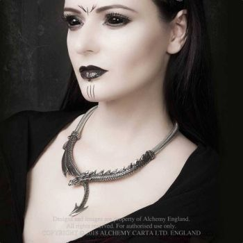 Dragon's Lure necklace by Alchemy England