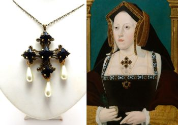 Catherine of Aragon replica necklace