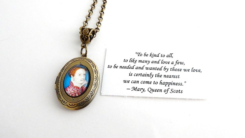 Mary Queen Of Scots necklace