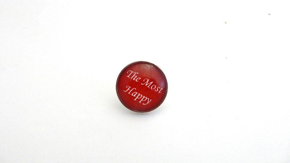 The Most Happy - Anne Boleyn Motto pin