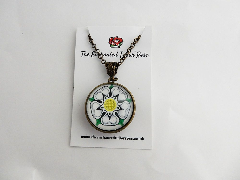 War Of The Roses Collection - Double sided Necklace - York and Lancaster