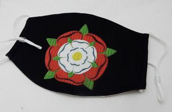 Tudor Rose face mask