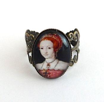 Elizabeth 1st portrait ring
