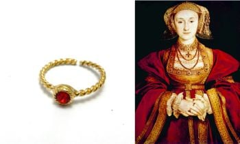 Anne OF Cleves replica stacking ring