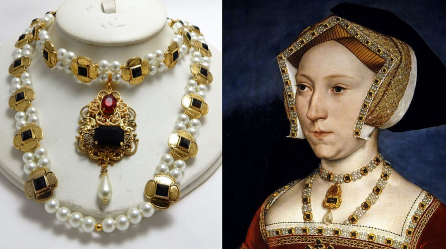 Jane seymour new necklace double carcanet compare.png1