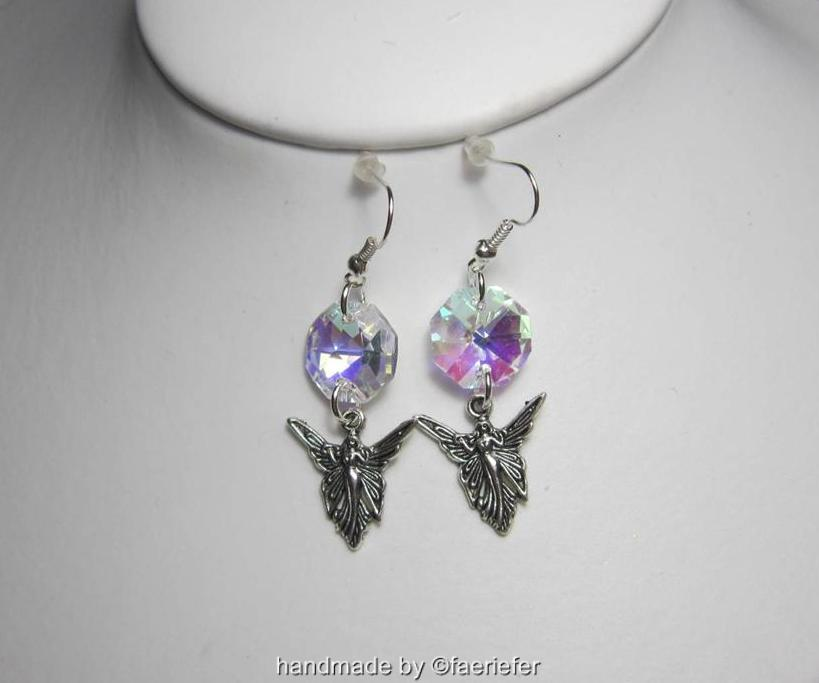 Crystal Fairy drop earrings