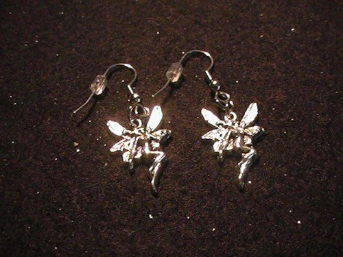 Fairy charm earrings