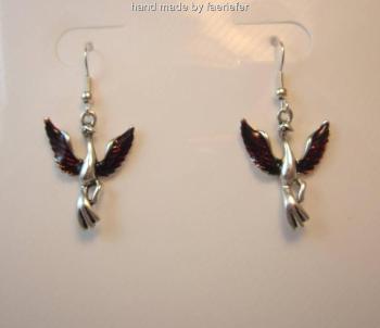 Phoenix rising earrings