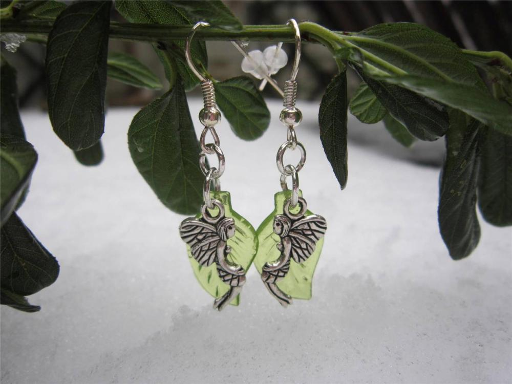 Fairy Forest Leaf earrings