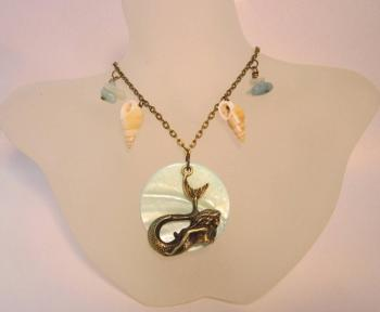 Seashell Mermaid necklace