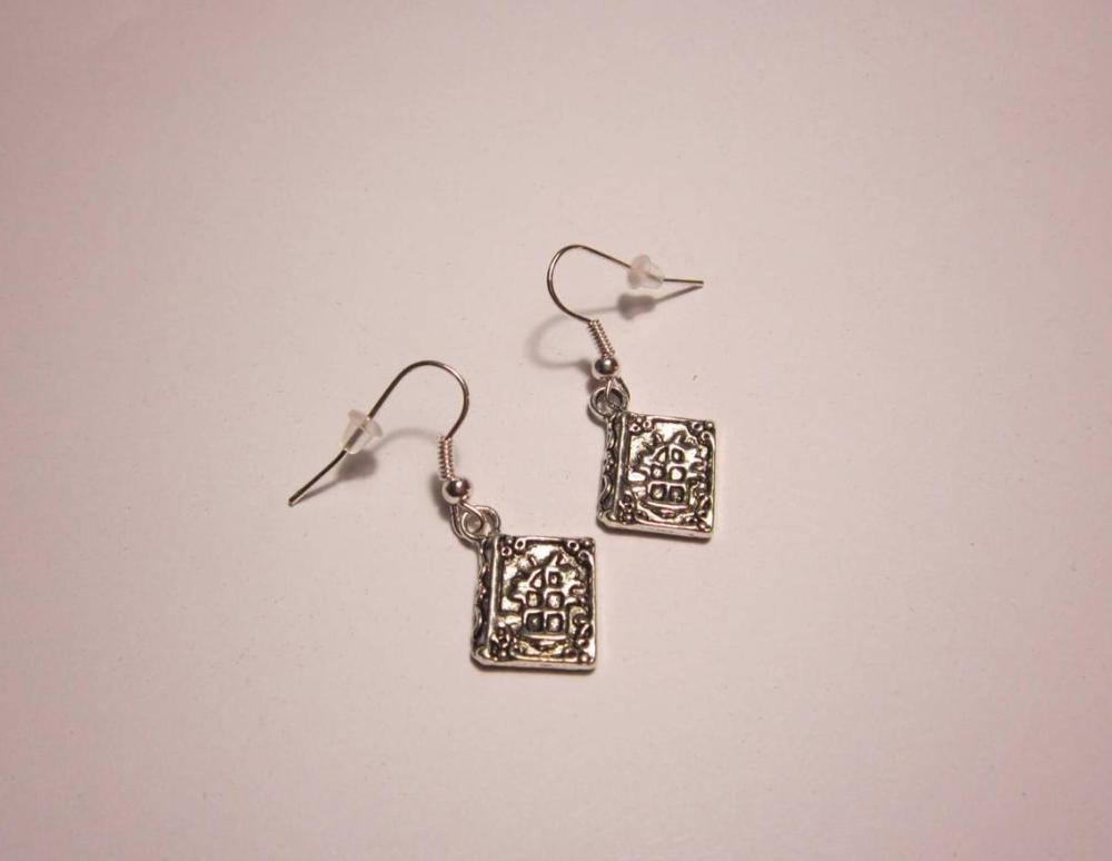 The Spell Book Earrings