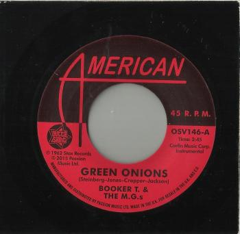 BOOKER T & THE M.G.s - GREEN ONIONS