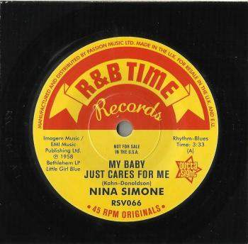 SIMONE, NINA -- MY BABY JUST CARES FOR ME // WORK SONG