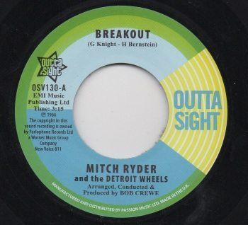 MITCH RYDER & THE DETROIT WHEELS - BREAKOUT
