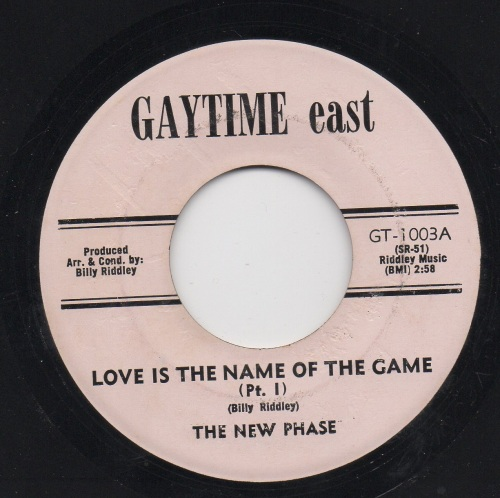 NEW PHASE – LOVE IS THE NAME OF THE GAME PT1