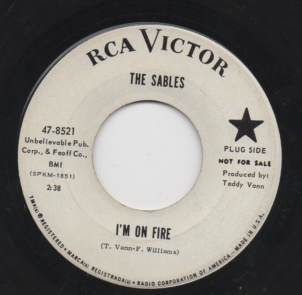 SABLES - I'M ON FIRE