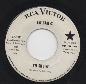 SABLES - I'M ON FIRE / DARLING